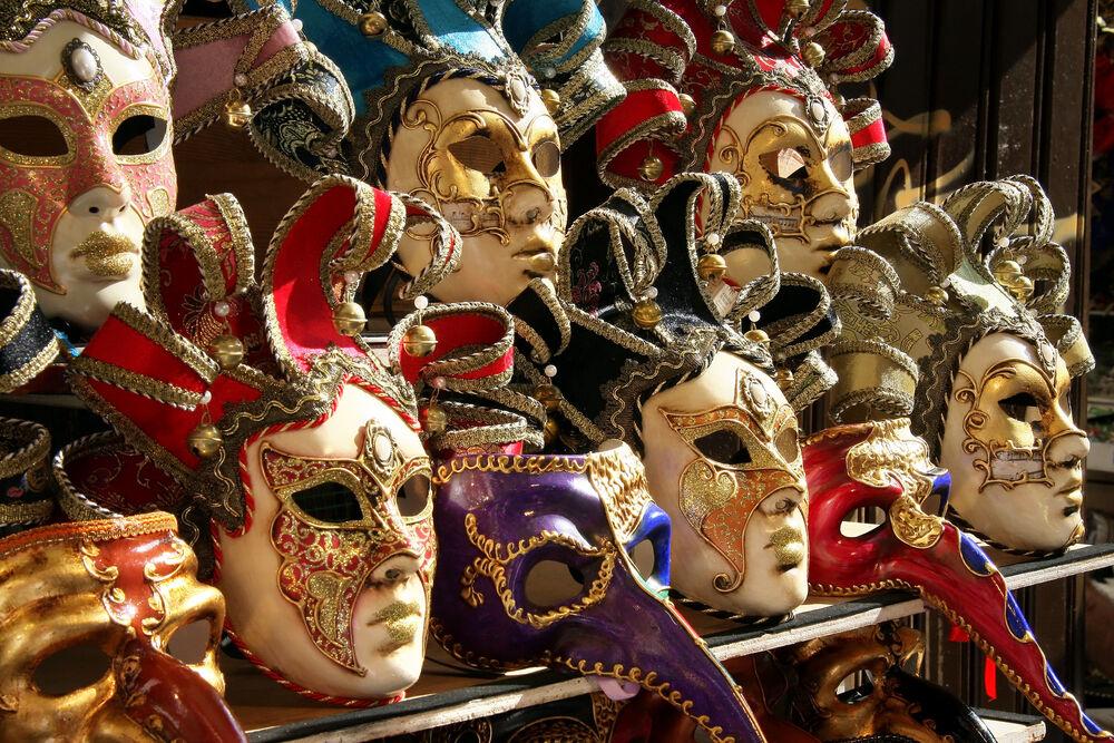 Venedik-Maskesi