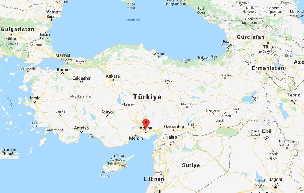 Adana Haritası